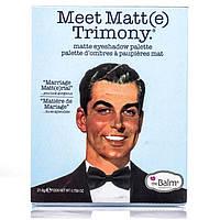 Набор теней The Balm Meet Matt(e) Trimony (9 цветов)
