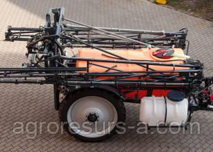 ОПШ-2,4-18 (базовый) колеса 9,5х42 Опрыскиватель полуприцепной штанговый