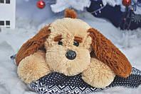 """Мягкая игрушка - собачка """"Тузик"""" (персиковый) 65 см., фото 1"""