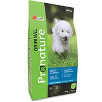 Pronature Original Dog Chicken Oatmeal корм для собак с курицей и овсяной мукой, 2.7 кг