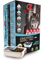 Alpha Spirit Only Fish полувлажный корм для собак, 200 г