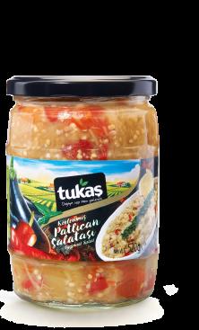 TUKAS PATLICAN SALATASI (баклажан жареный на мангале салат)