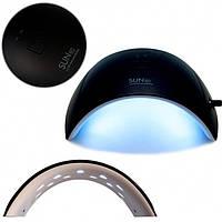 UV LED лампа Sun9C 24 Вт, для сушки геля и гель-лака, черная, фото 1