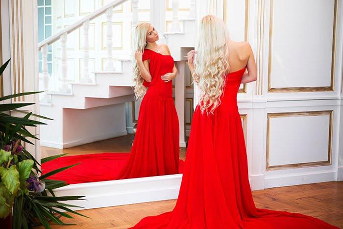 a5b31627ddc3154 Красное платье со шлейфом на прокат (аренда) для фотосессии, цена 300 грн.,  заказать Миколаїв — Prom.ua (ID#718188836)