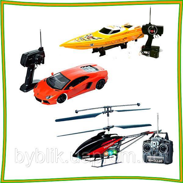 Любимые игрушки на радиоуправлении