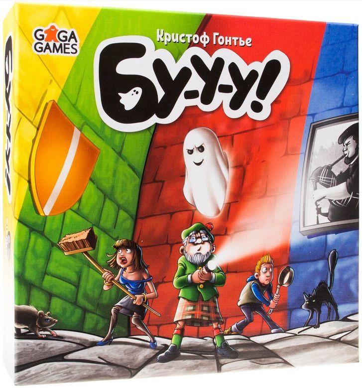 "Настольная игра ""Бу-у-у! (Booo!)"" GaGa Games"
