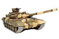 Танк р/у 1:16 Heng Long Т-90 в металле с пневмопушкой и дымом (HL3938-1PRO), фото 1