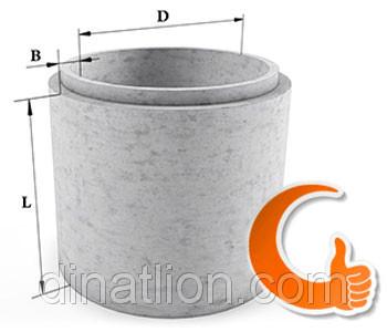 Железобетонное кольцо колодезное, крышки, днища КС 15.6 евро