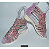 Нарядные босоножки для девочки, 31-36 размер, кожаная стелька