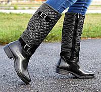 36-40 рр Гумові жіночі утеплені чоботи (БР-3 ч2) 4dee4fee831e4
