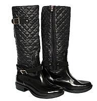 36-40 рр Жіночі демісезонні гумові чоботи для негоди (БР-3 ч) dc7e019b2eb0f