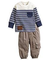 Детский комплект для мальчика  4-6 месяцев