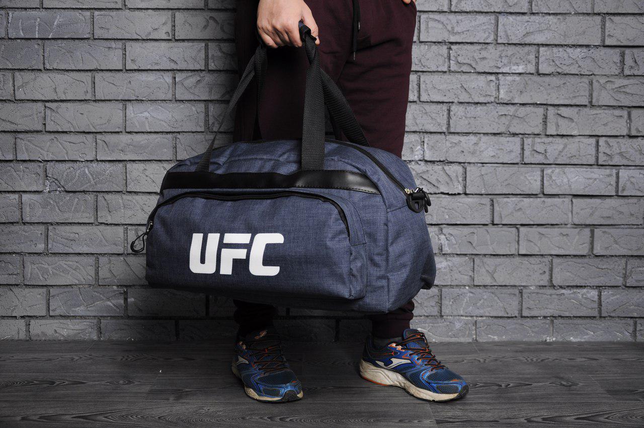 d31679af0292 мужская дорожная сумка Ufc синяя цена 390 грн купить в киеве