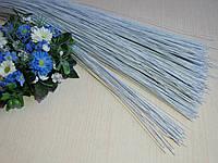 Проволока флористическая тейпированная. Диаметр 0.5 мм. Белая 26 грн - 50 шт (длина 60 см), фото 1