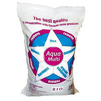 Сорбент Aqua Multi Bio (25 литров) - фильтрующий материал для удаления железа, жесткости, марганца, аммиака