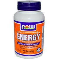 Энергия  Energy 90 капс  для повышения энергии  от усталости для сжигания жира  Now Foods
