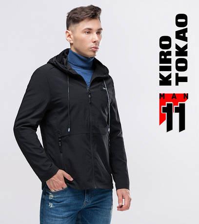 11 Kiro Tokao | Ветровка весна-осень 3412 черная