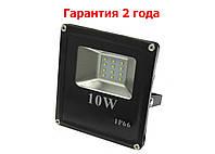 Светодиодный прожектор LED 10W Slim SMD стандарт, фото 1