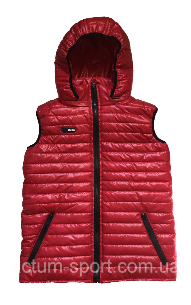 Жилет красный с капюшоном Activsport Красный, 46