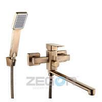 """Смеситель для ванны Zegor LEB7-A123KT """"бронза"""", фото 1"""
