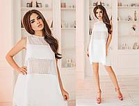 Короткое, свободное, летнее платье, красивое платье на каждый день, три цвета, размеры 42,44,46 код 4008Т