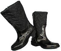 Низькі жіночі гумові чоботи демисезонні (Ч-13ч) 74b3200f5c673