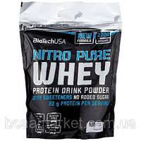 Протеин BioTechUSA Nitro Pure Whey 1,0 kg
