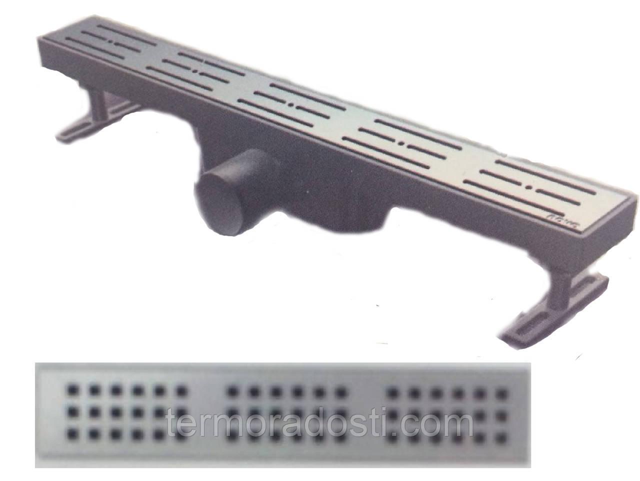 Душевой канал Nova 5105(002)N (длина 70 см.,горизонтальный выход, D 50)