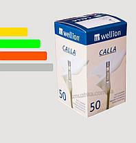 Тест-полоски Wellion CALLA #50, Веллион Калла, фото 2