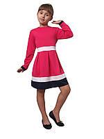 Платье  детское с длинным рукавом   М -982  рост  98, фото 1