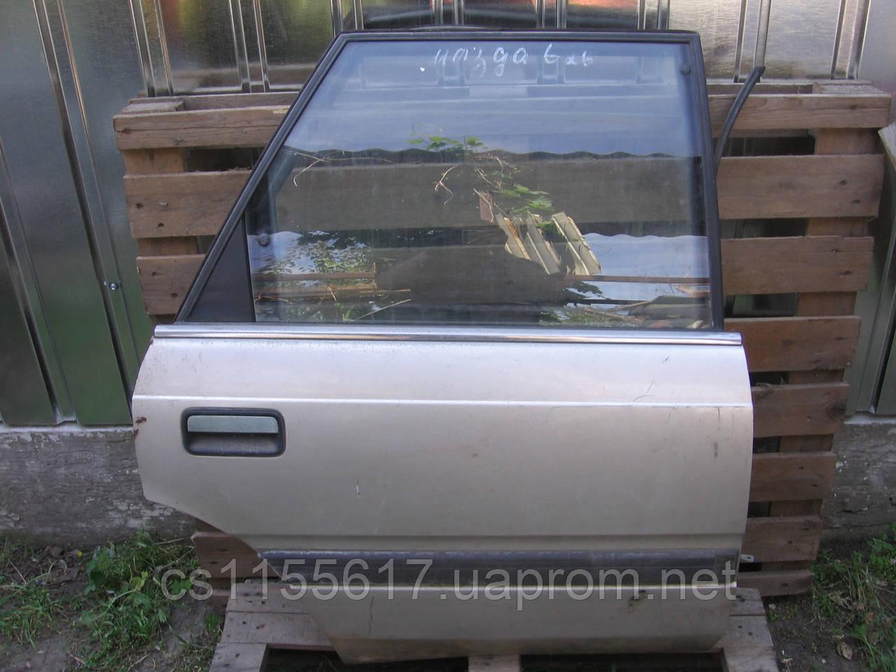 Дверь задняя правая б/у на Mazda 626 хэтчбек год 1987-1992