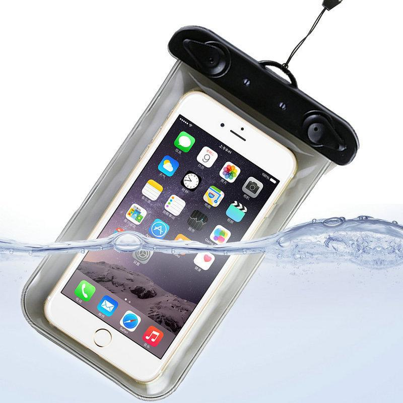 Водонепроникний чохол для телефону (чорно-білий)