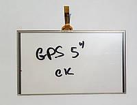 """Сенсор (тачскрін) для GPS 5"""" (BE269B)"""