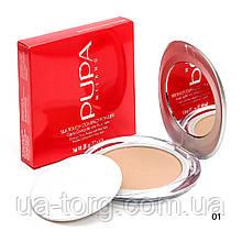 Компaктнaя пудра Pupa Silk Touch Compact Powder  №1