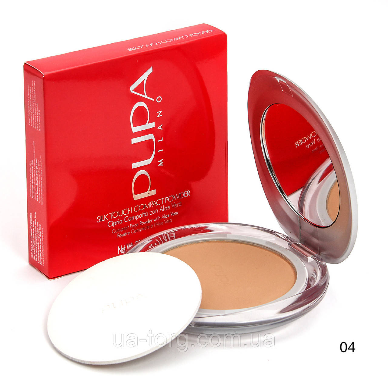 Компaктнaя пудрa Pupa Silk Touch Compact Powder №4