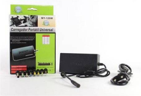Универсальное автомобильное зарядное устройство  для ноутбука laptop 120W, фото 2