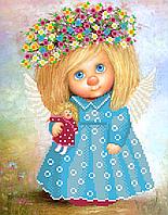 Схема для вишивки бісером Небесний ангел