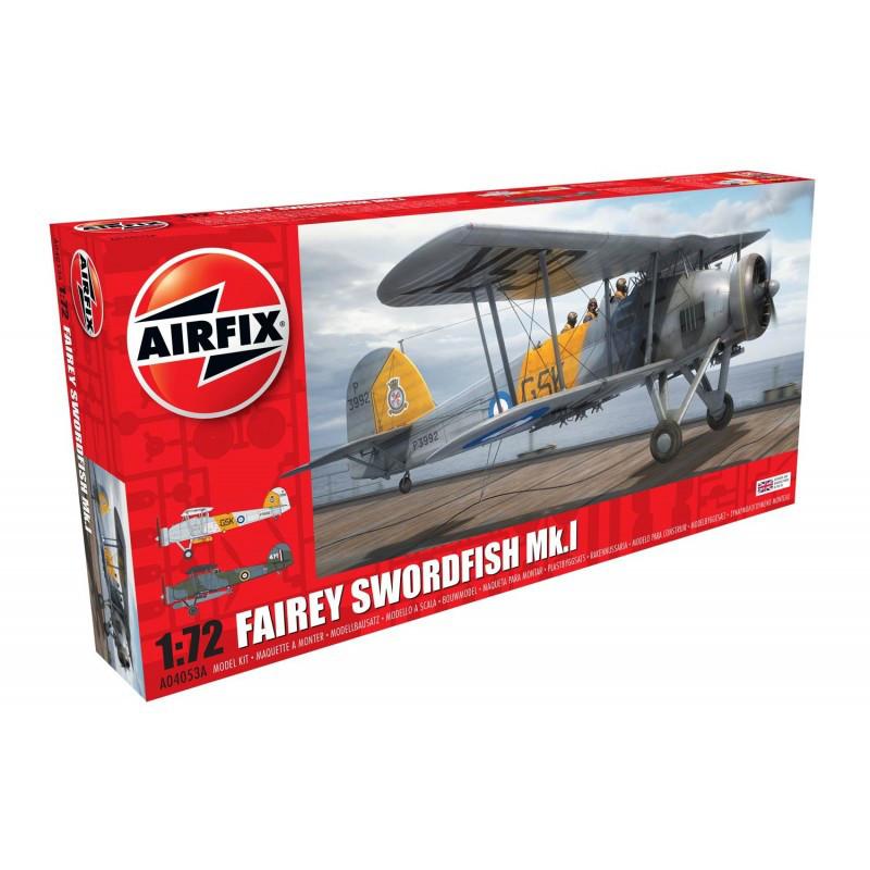 FAIREY SWORDFISH MK.I. 1/72 AIRFIX 04053
