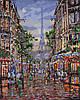 Картина по номерам - Улицами вечернего Парижа