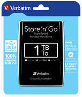 Жесткий диск внешний 1тб Verbatim Store 'n' Go