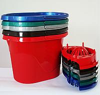 Ведро для уборки с отжимом 14 литров