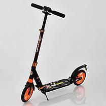 """Самокат алюминиевый """"BEST Scooter"""" арт. 692, 4 цвета, 2  амортизатора, фото 3"""