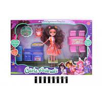 """Кукла  с кухонной мебелью""""Enchantimals"""" (коробка) ТМ665A-B р.29*40*5,5 см(ТМ665A-B)"""