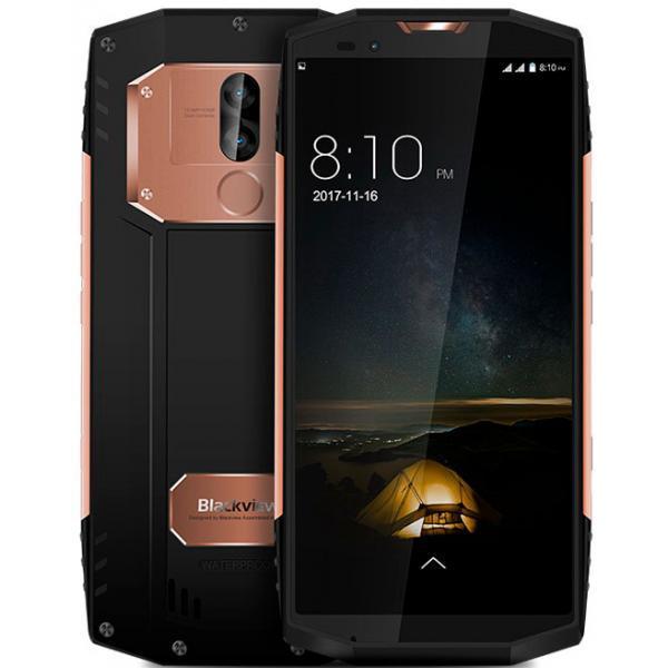Смартфон Blackview BV9000 Gold, 4/64Gb, 13+5/8Мп, 4180mAh, экран 5.7'' IPS, IP68, 4G, Helio P25, 8 ядер