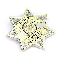 Значок Шерифа Ходячие мертвецы