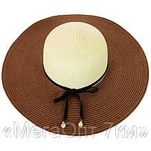 Шляпа 12017-38 коричневый