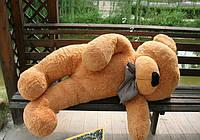 Плюшевая игрушка медведь, мишка 160 см, карамельный