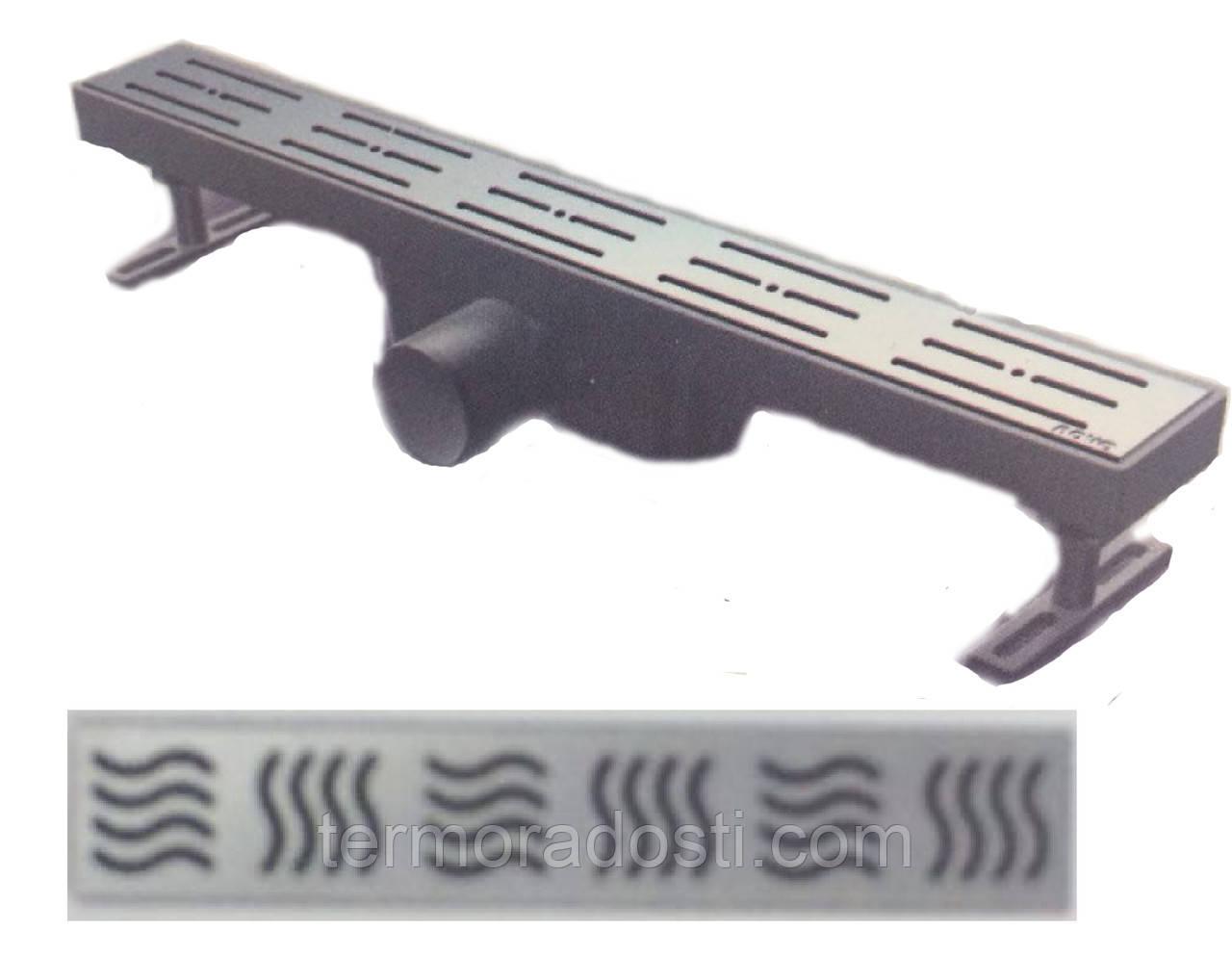 Душевой канал Nova 5105(003)N (длина 70 см.,горизонтальный выход, D 50)