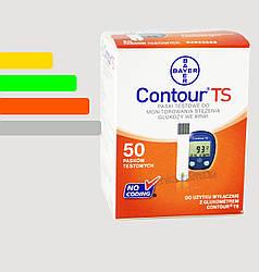 Тест-полоски Contour TS  test strip #50 -  Контур ТС тест полоски  #50 шт