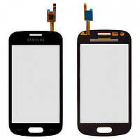 Сенсорное стекло для Samsung S7390, черный